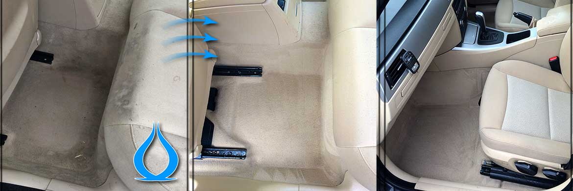 Car Interior Upholstery Cleaning